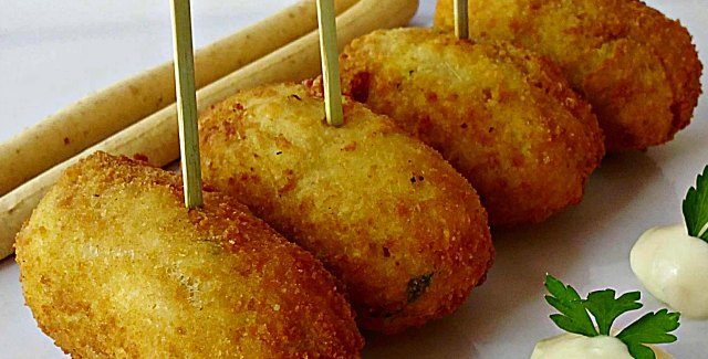 Spanish Salt Cod Fish Cakes