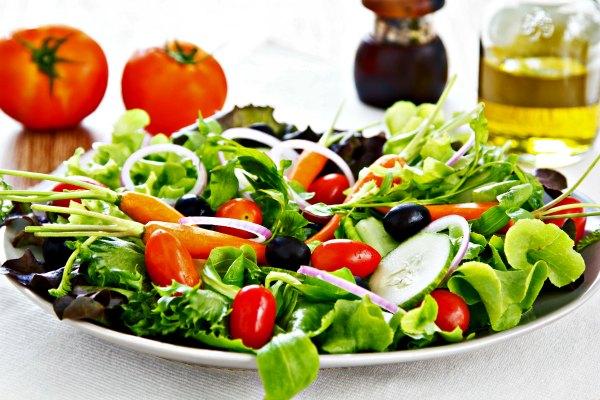 Mixed salad ensalada mixta - Como preparar una cena saludable ...